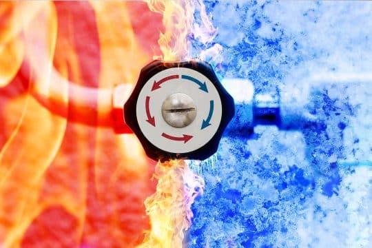 Photo de moyen de chauffage avec une PAC