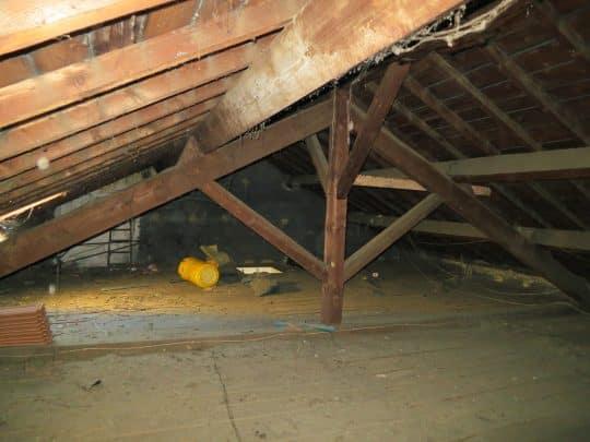 Photo montrant l'intérêt de modifier la charpente sans toucher à la toiture